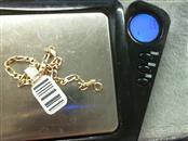 Gold Fashion Bracelet 10K Yellow Gold 1.3g